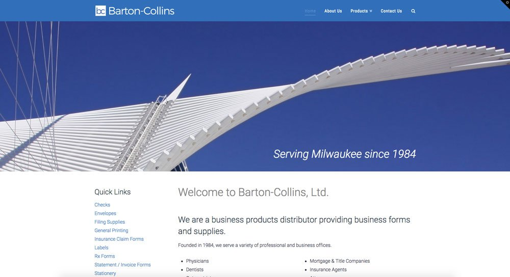 Barton-Collins website