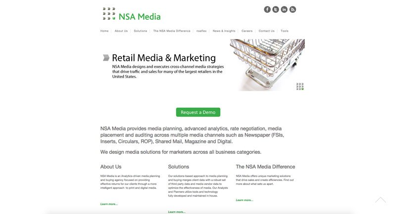 NSA Media website
